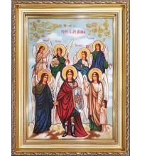 Собор Архистратига Михаїла - Ікона з бурштина (ар-349)