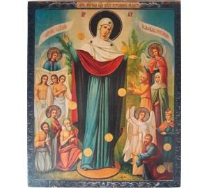 Ікона під старовину Всіх скорботних радість (ХМ-109)