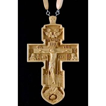 Иерейский крест из дерева с цепочкой (Rev-k-11)