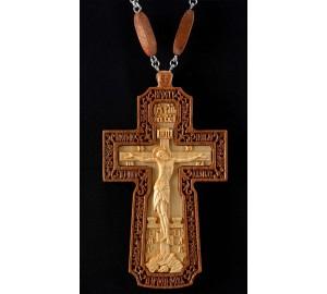 Иерейский крест из красного дерева (Rev-k-12/1)