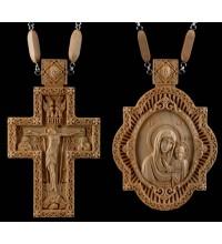 Комплект крест наградной и панагия (Rev-07/03)