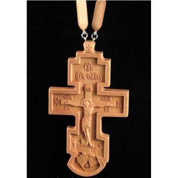 Крест Иерейский из дерева (с цепочкой) (Rev-k-06)