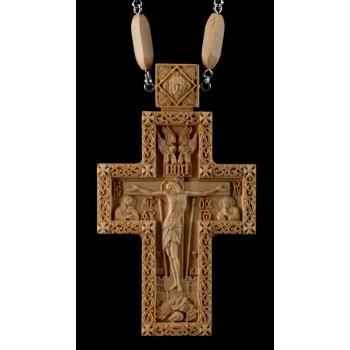 Крест наградной с цепочкой, для священнослужителей (Rev-k-09)