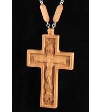 Крест Протоиерейский с цепочкой, дерево (Rev-k-05)