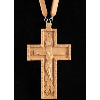 Протоиерейский крест из дерева с цепочкой (Rev-k-08)