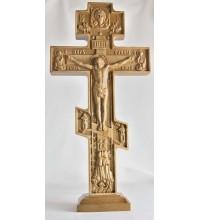 Резной крест на подставке (Rev-kr-02)