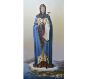 Афонская икона Божьей Матери (Игумения Святой Горы) - писаная икона (сч-10)
