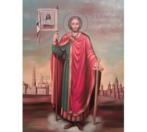 Олександр Невський - ікона писана (Гр-60)