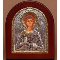 Ангел-Хранитель - Красивая Икона из Греции с серебром и позолотой (GOLD)