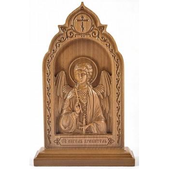 Святой Ангел-Хранитель икона из дерева купить Киев