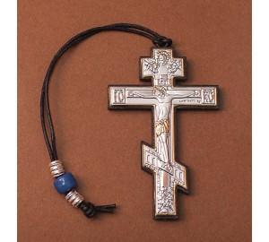 Автомобільна підвіска - Хрест з сріблом (EK хрест)