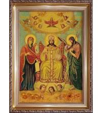 Цар слави - ікона з янтаря (ар-361)