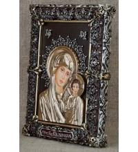 Чудесная настольная икона Казанская Божья Матерь (Ос-МБК33)