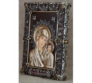 Чудова настільна ікона Казанська Божа Мати (Ос-МБК33)