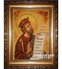 Давид - Великолепная именная икона ручной работы (Давид)