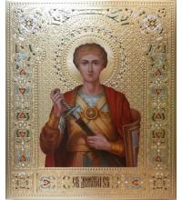 Дмитрий (Димитрий) Солунский - писаная икона (Дм-11)