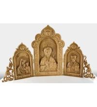 Домашний иконостас  - иконы из натурального дерева (rev-100)