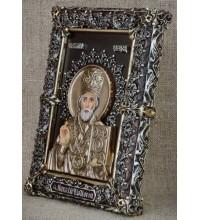 Эксклюзивная настольная икона Святой Николай (Ос-МН33)