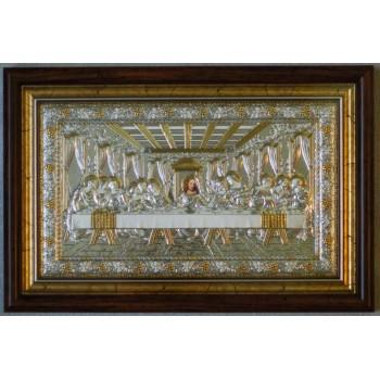 Греческая Икона Тайная Вечеря - эксклюзивная подарочная икона 27*41 см (SPECIAL-1)