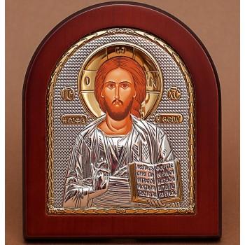 Христос Спаситель - Православная Греческая Икона  (GOLD)
