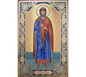 Игорь князь Черниговский - именная икона (гр-36)