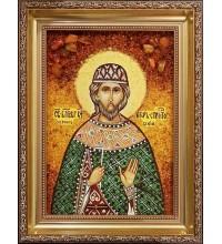 Игорь - Непревзойденная именная янтарная икона ручной работы (Игорь)