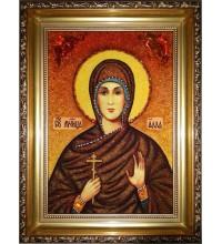 Икона Алла Готфская, из янтаря (ар-299)