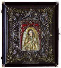 Ікона Ангел-Хранитель - Ексклюзивна ікона ручної роботи (Ос-ЛАХ13)
