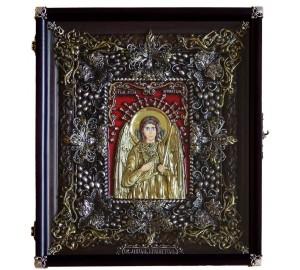 Икона Ангел-Хранитель - Эксклюзивная икона ручной работы (Ос-ЛАХ13)