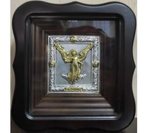 Икона Ангел-Хранитель - подарочная икона в фигурном киоте (ЮЛ-03)