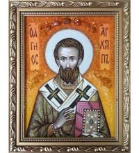 Икона Архипп (Архип), апостол - икона из янтаря (ар-289)