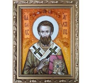 Ікона Архип (Архип), апостол - ікона з янтаря (ар-289)