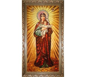 Ікона Богородиці Благодатне Небо (ар-311)