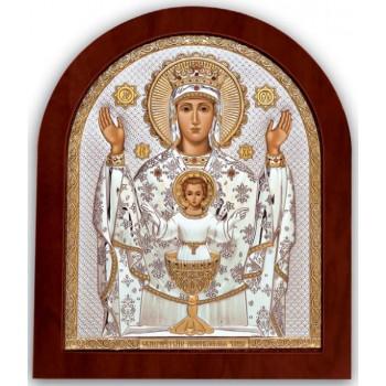 Икона Богородицы Неупиваемая Чаша - защищает от алкоголизма, курения и наркомании (GOLD)