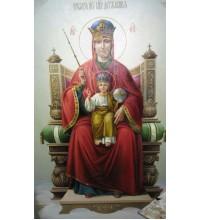 Ікона Божої Матері Державна - ікона Писана (сч-02)
