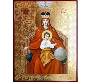 Ікона Божої Матері Державна - ікона писана, з золотом (ВЧ-23)