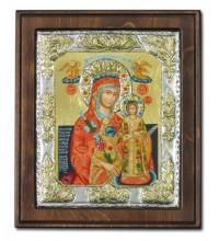 Икона Божией Матери Неувядаемый Цвет - греческая икона