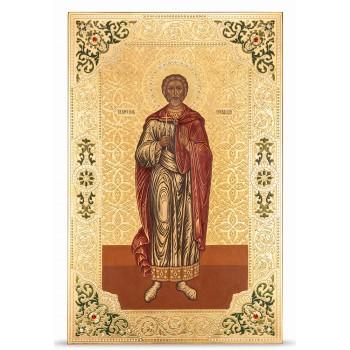 Икона Иоанн Сочавский - писаная икона, с сусальным золотом (НП-02)