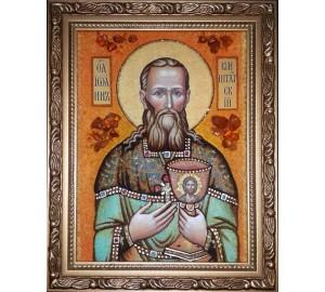 Ікона з янтаря Іоанн Кронштадський (ар-284)