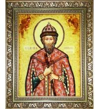 Ікона з янтаря Всеволод (ар-275)