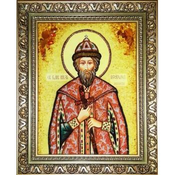 Икона из янтаря Всеволод  (ар-275)