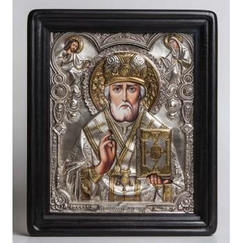 Икона на подарок Святой Николай Чудотворец (хм-26)