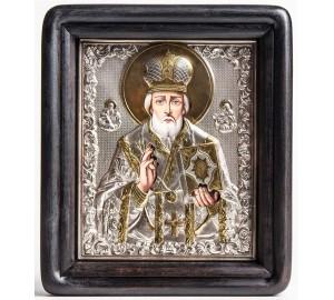 Икона на подарок Святой Николай Чудотворец (хм-33)