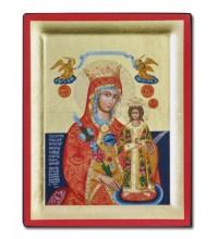 Икона Неувядаемый Цвет - греческая икона Божьей Матери (Ик - S169)