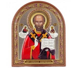 Икона Николая Чудотворца - чудотворная православная икона (RS PAX-9)