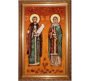 Ікона Петро і Февронья - покровителі сім'ї, помічники від безпліддя в сім'ї (ар-137)