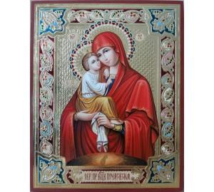 Почаївська ікона Богородиця - Неперевершена ікона писана (Гр-01)