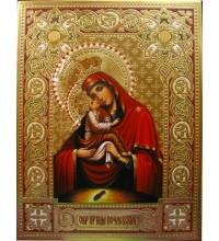 Икона Почаевская Божия Матерь - Бесподобная писаная икона (Гр-21)