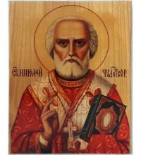 Икона под старину Святитель Николай Чудотворец (ХМ-111)