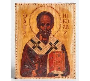 Икона под старину святой Николай Чудотворец (ХМ-105)